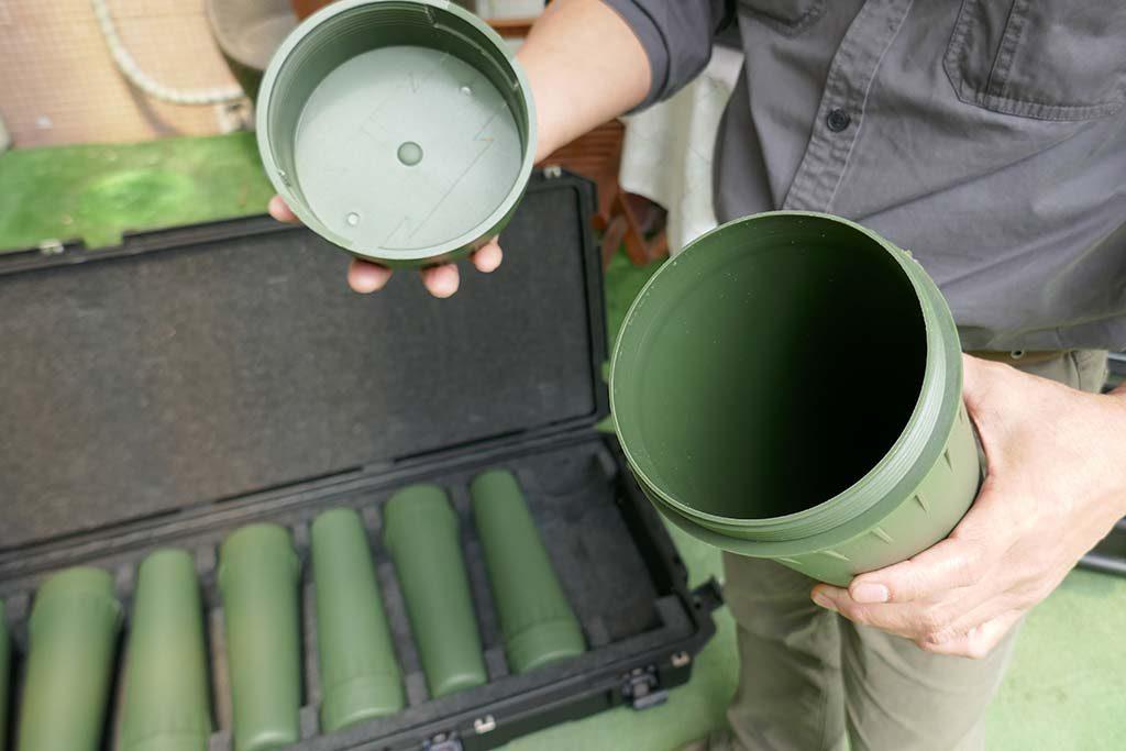 Militärkoffer für Munition-Transport