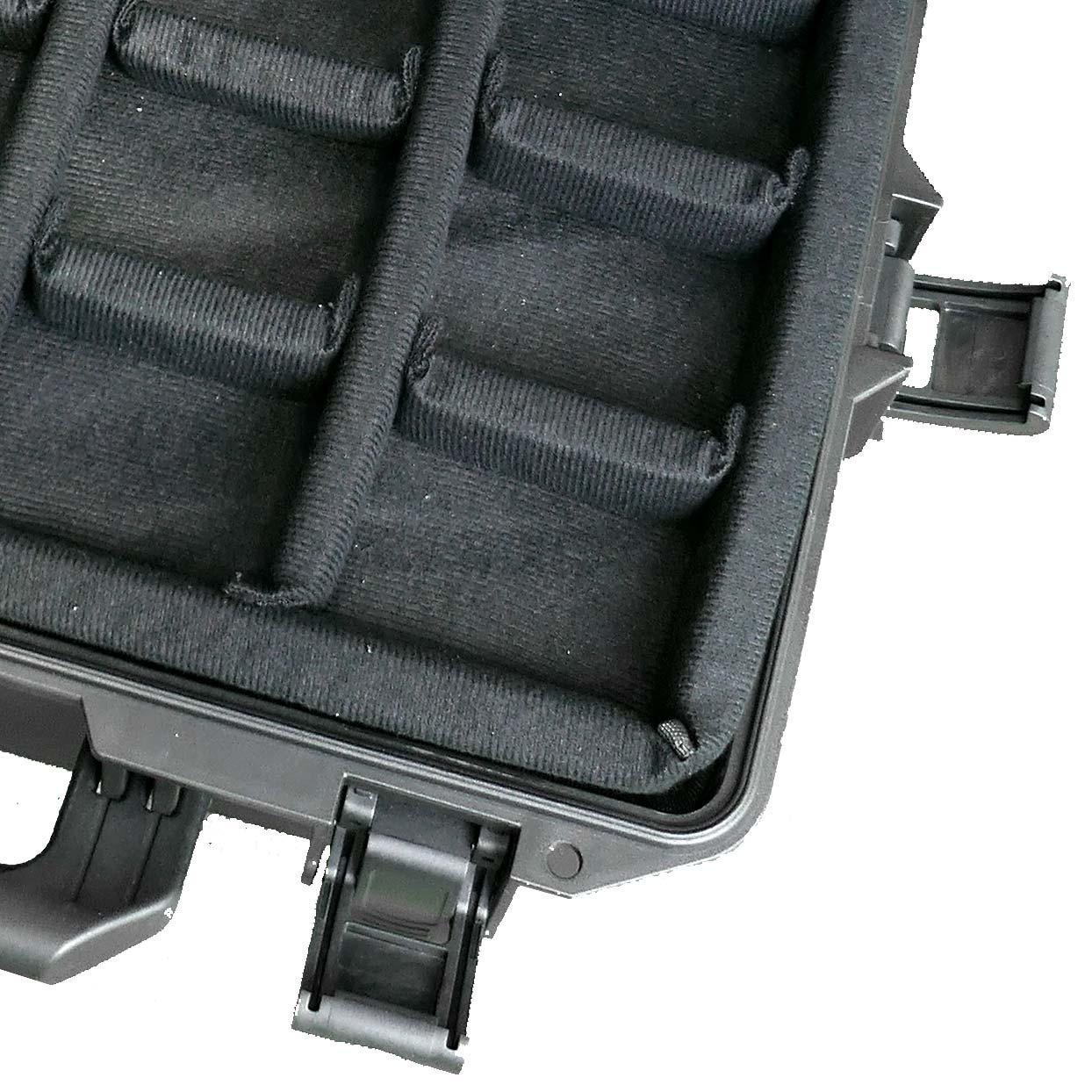 Sinora Koffer mit Klett Trennwänden