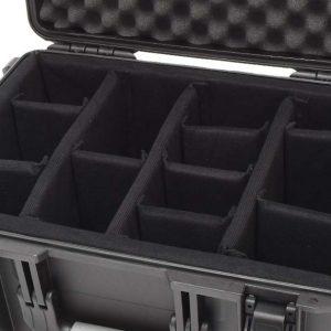 Transport-Koffer mit Klett-Trennwand Einsatz